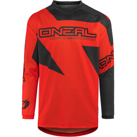 ONeal Matrix Bike Jersey Longsleeve Men Ridewear red/black